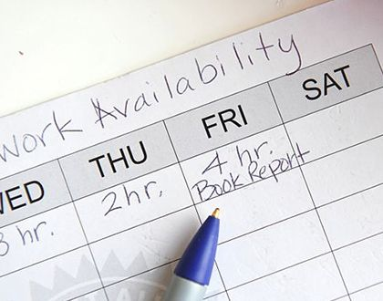 How to Avoid Violating #Employeeu0027s #Rights with a Work #Schedule - work schedule