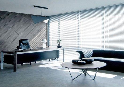 Galer a de oficinas cthb law salon architects 7 for Muebles de oficina issa