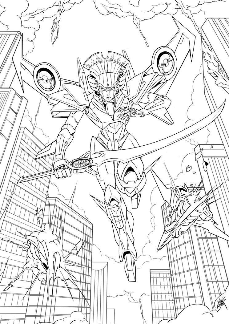 Windblade By Neurowing On Deviantart Transformers Coloring Pages Transformers Drawing Transformers Megatron