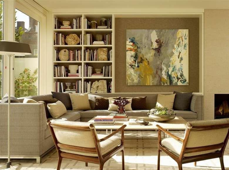 Come appendere i quadri in soggiorno   Sale soggiorno ...