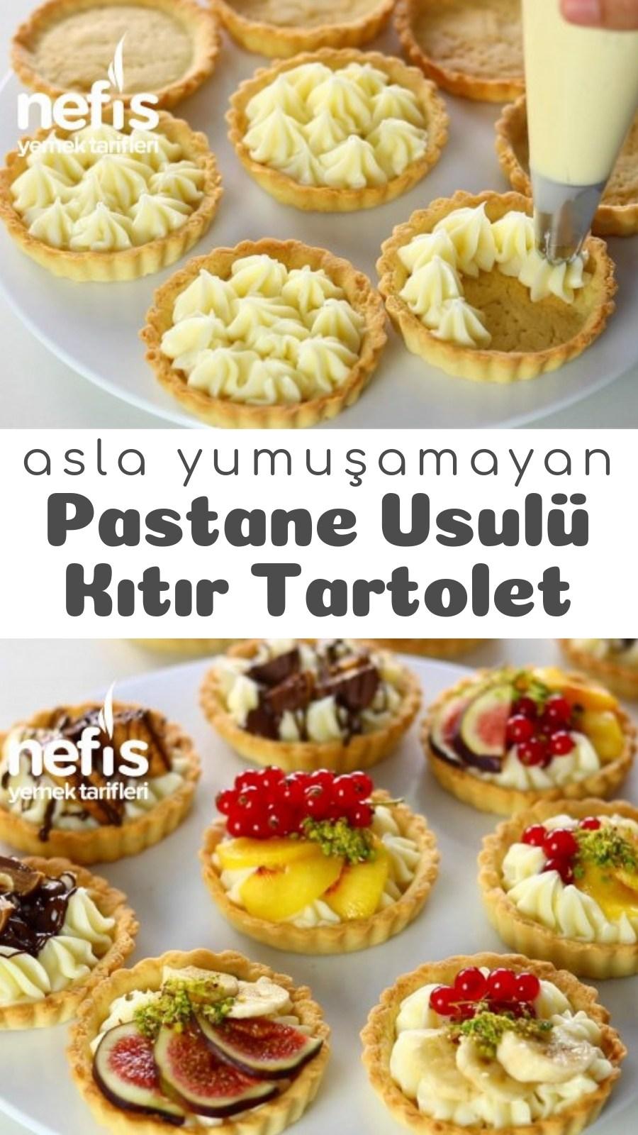Pastane Usulü Kıtır Tartolet Asla Yumuşamıyor Videolu Tarifi nasıl yapılır 8010 kişinin defterindeki bu tarifin resimli anlatımı ve deneyenlerin fotoğrafları burada...