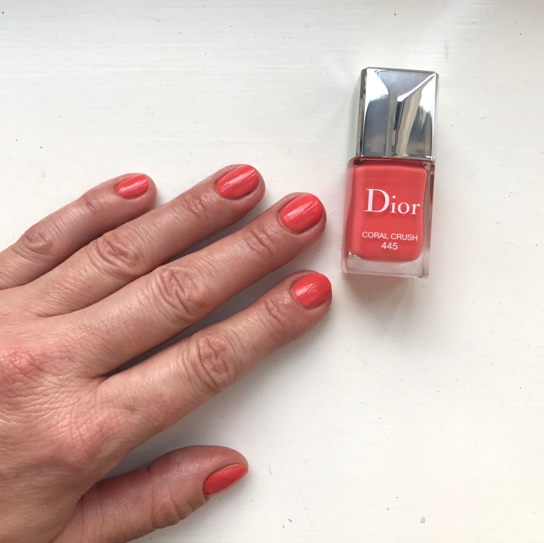 Dior 445 Coral Crush Nail Colors Pinterest Nails Art Kutek Muslimah Kid My Crushes