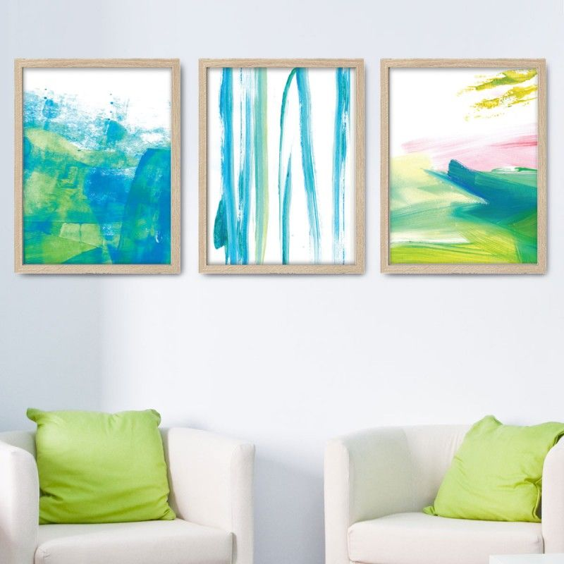 Trade Winds Wall Art   Set of 3The Block Shop - Channel 9