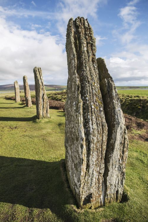 The Ring of Brodgar, Orkney Islands / Scotland (by...