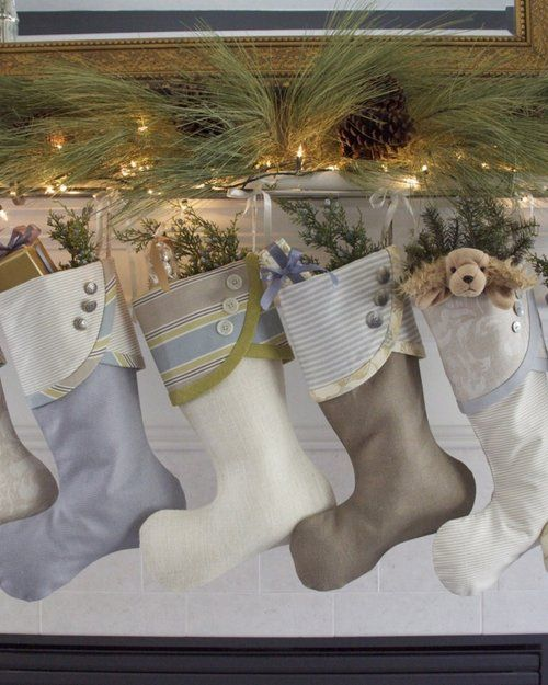 50 Beautiful Christmas Stocking Ideas And Inspirations Stocking ideas