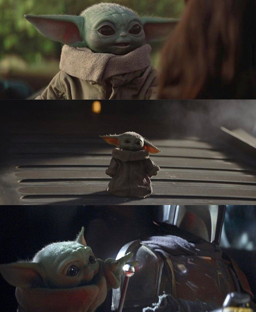 Pin by Missy Berry on baby yoda. in 2020 Yoda wallpaper