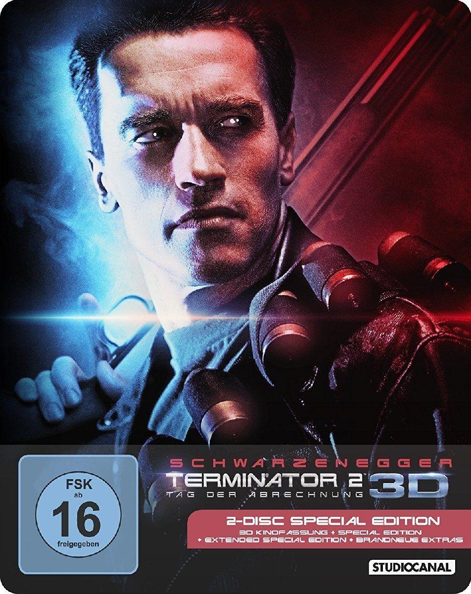 Terminator 2 3d Steelbook Edition Terminator Terminator Movies Blu Ray