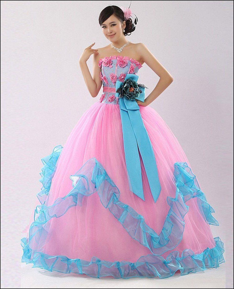 Unique colorful wedding dresses dressizer the most for Unique colorful wedding dresses
