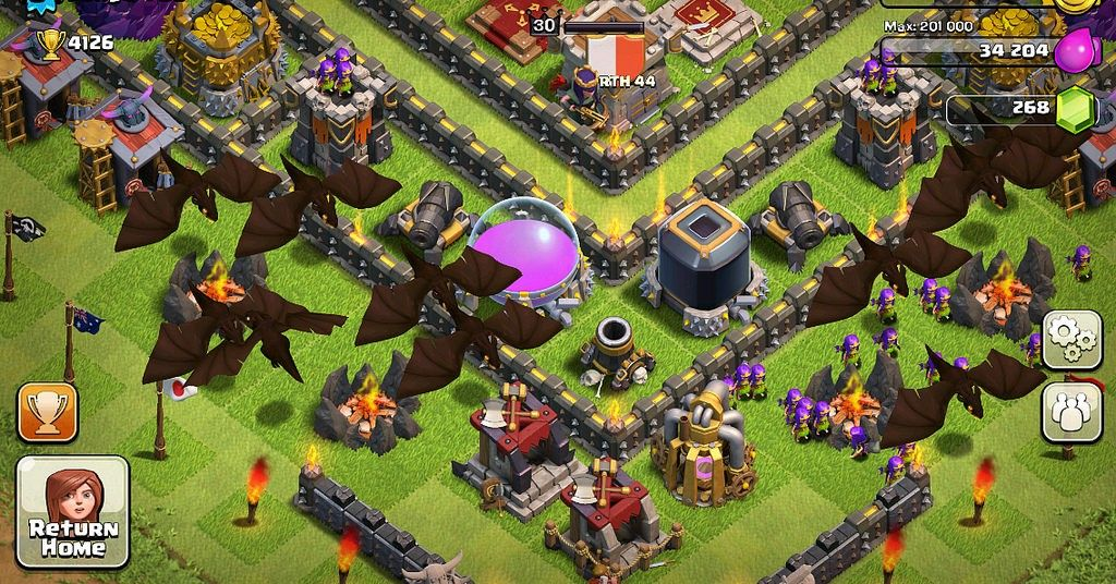 Best Web Games To Play With Friends Clash of clans