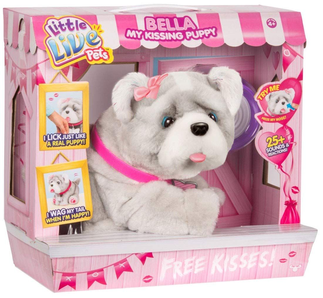 Amazon Com Bella My Kissing Puppy Dog Interactive Little Live Pet
