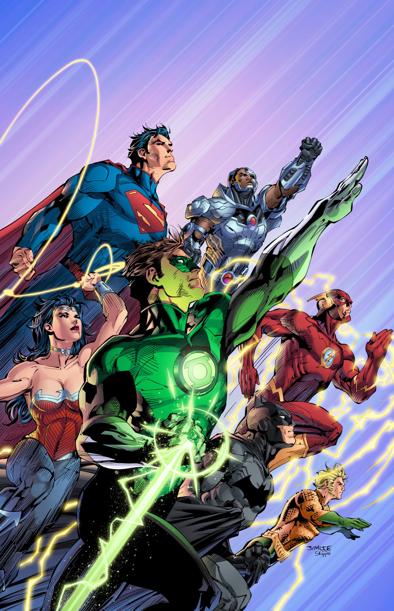 Dc Comics Justice League : Justice league jim lee dc comics pinterest