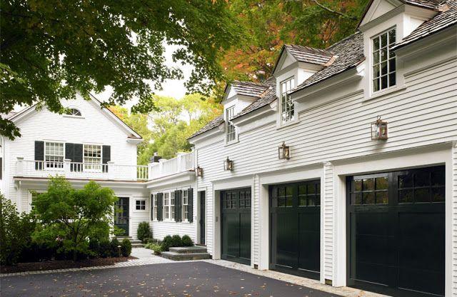 Patrick Ahearn Architecture Garages Black Garage Doors I Am A
