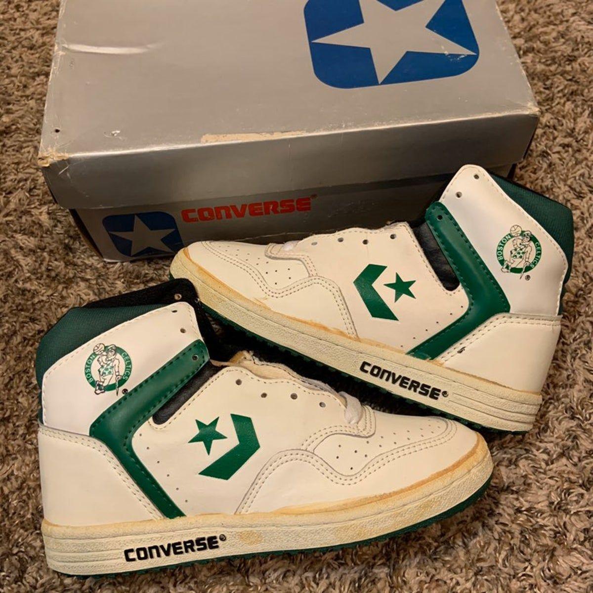 Negrita chocar Todopoderoso  vintage 80s nba boston celtics converse in 2020 | Converse, Converse nba,  Vintage sneakers