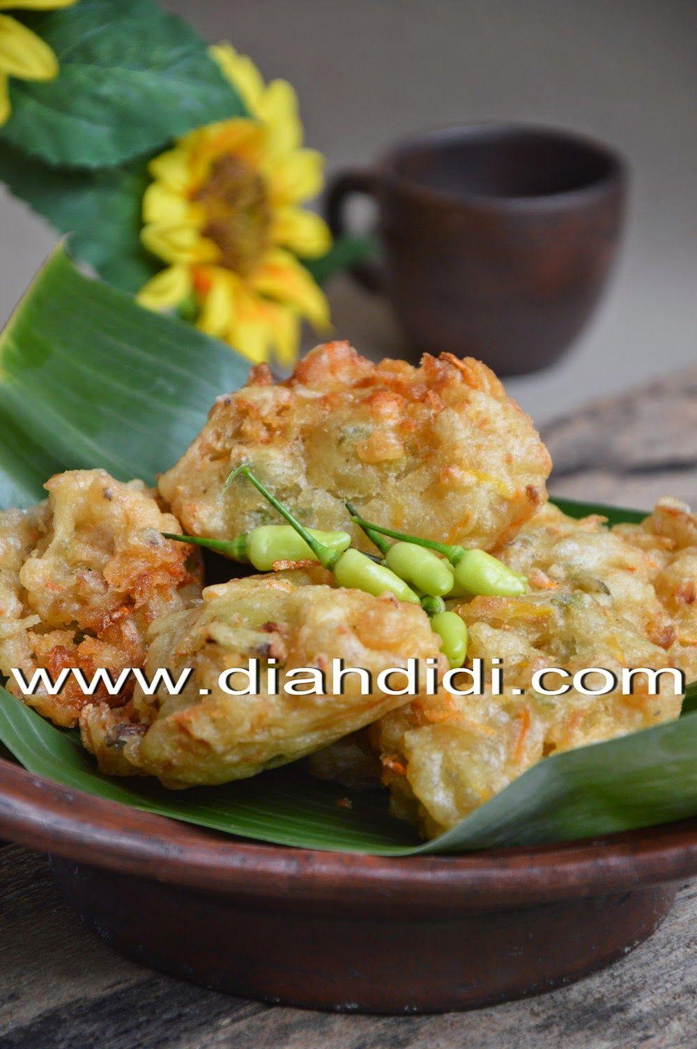 Bakwan Jamur Tiram Udang Makan Malam Makanan Dan Minuman Resep Masakan