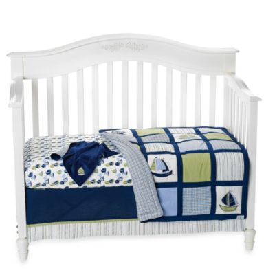 Nautica Kids Zachary 6 Piece Crib Bedding Set From Bed Bath Beyond