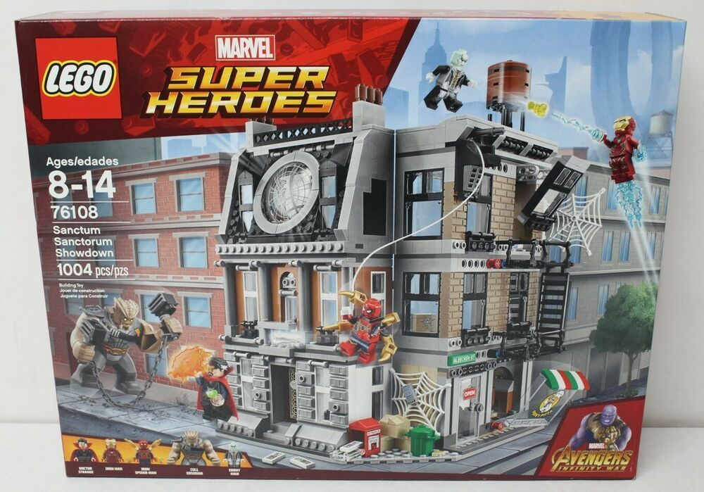 10840 Marvel Avengers Infinity War Sanctum Sanctorum Showdown Iron man Spiderman