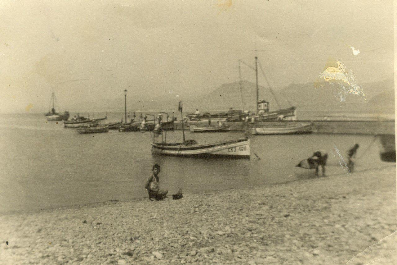 Pantalán Como Muelle De La Azohía Fotografia Muelle Playa