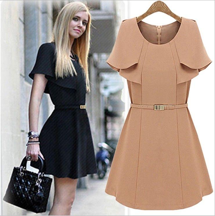 European fashion style dresses