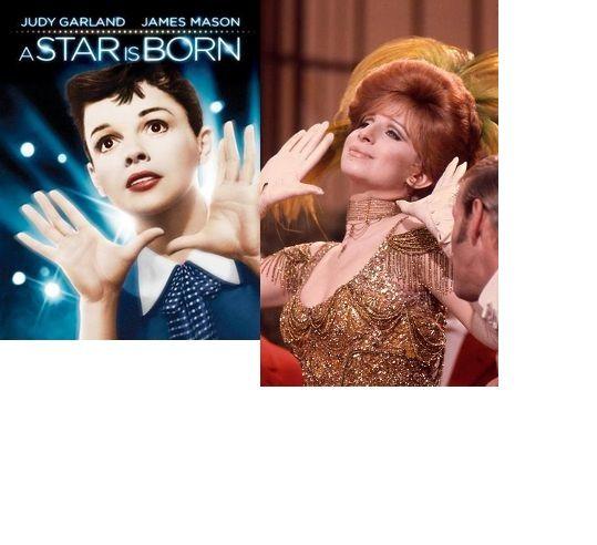Judy Garland In A Star Is Born Barbra Streisand In Hello Dolly
