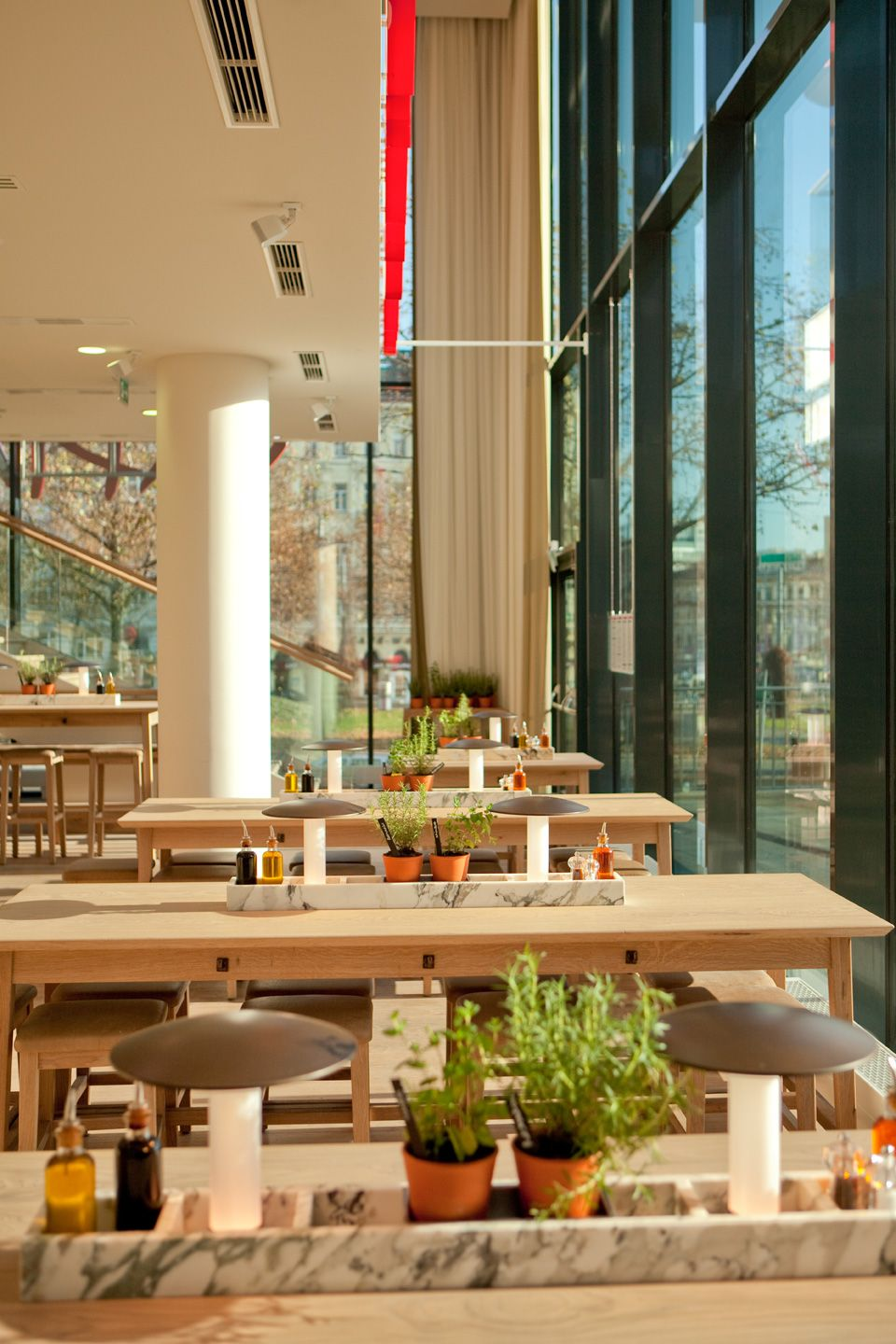 the new design furniture and sunlight vapiano designed by