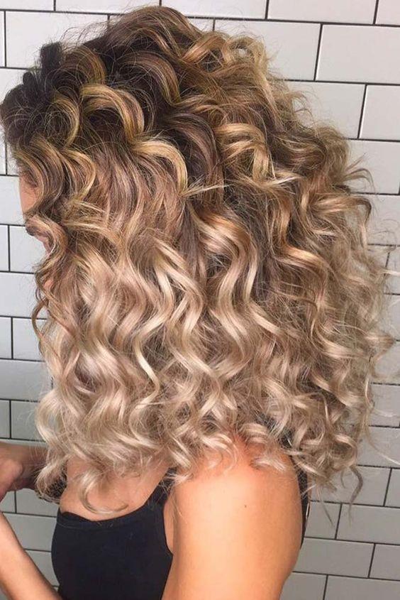 Como cuidar do cabelo cacheado de forma fácil #cabelos