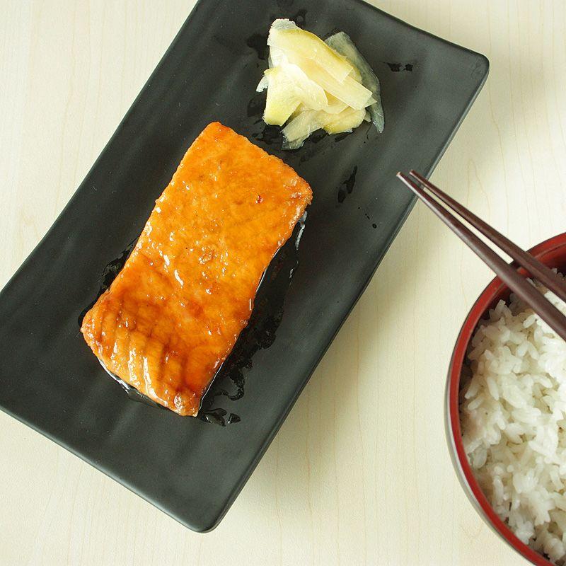 Salmon Teriyaki #salmonteriyaki