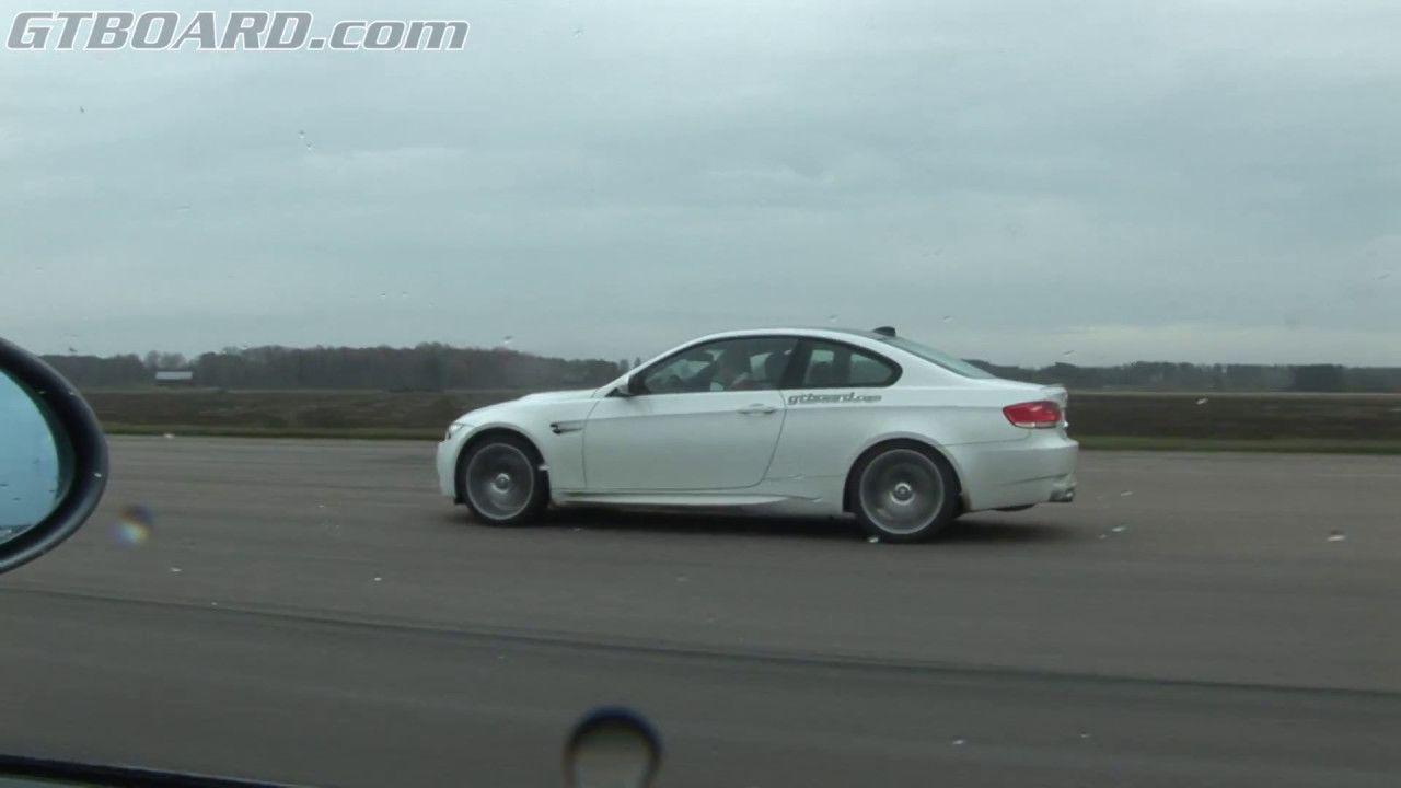 Video: BMW E46 M3 CSL Drag Races Manual BMW E92 M3 Coupe -  http://www.bmwblog.com/2017/05/09/video-bmw-e46-m3-csl-drag-races-manual-bmw -e92-m3-coupe/