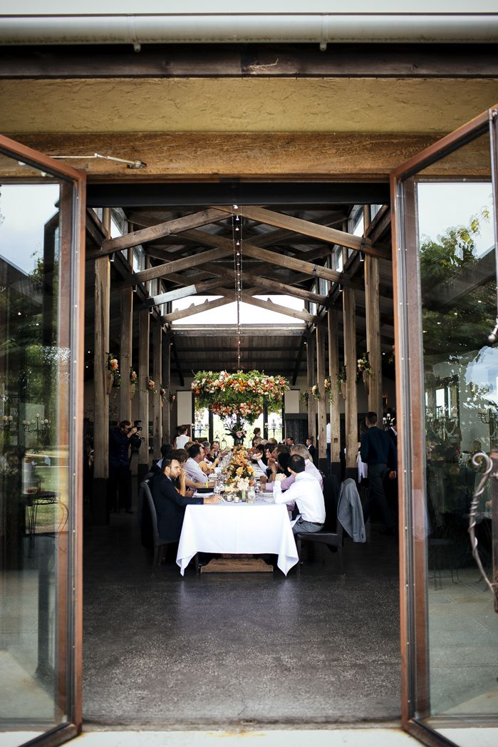 The Barn At Stones Of The Yarra Valley Vic Beautiful Reception