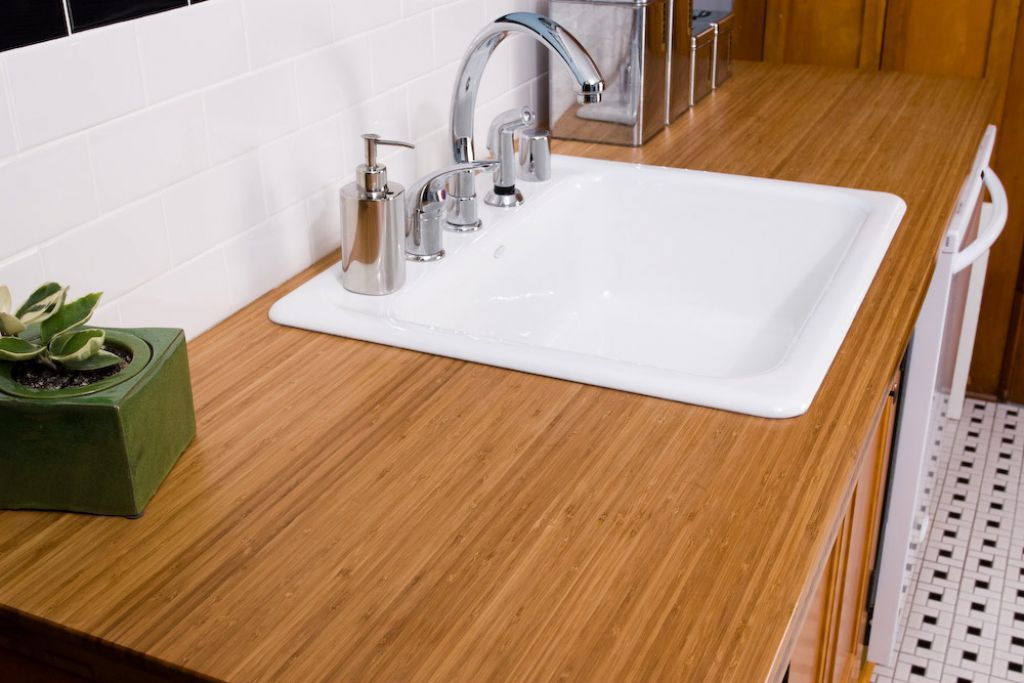 Outstanding And Eco Friendly Bamboo Countertops Bamboo Countertop Kitchen Countertops Countertops