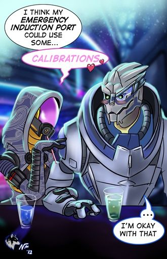 garrus and tali relationship mass