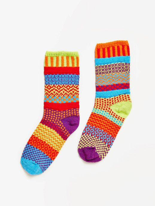 Solmate Socks Dawn Crew Sock - Without Walls