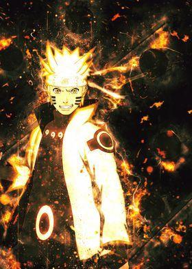 Naruto uzumaki art