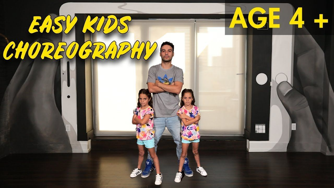 Easy kids choreography hip hop dance tutorial ages 4