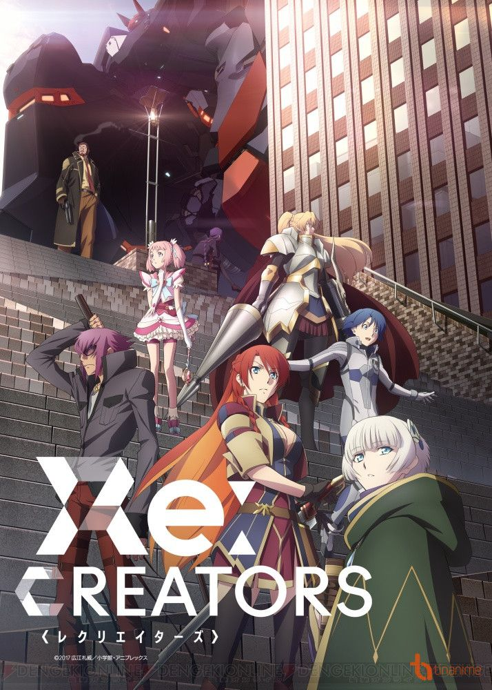 ReCreators Hình phạt từ Đấng Sáng Tạo Anime, Hình