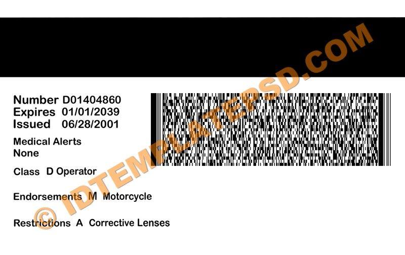 Drivers License Printable Template info@wbadviesnl id Pinterest - fresh hard drive destruction certificate template