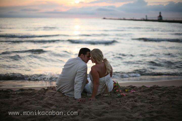 Silver Beach Wedding St Joseph Mi