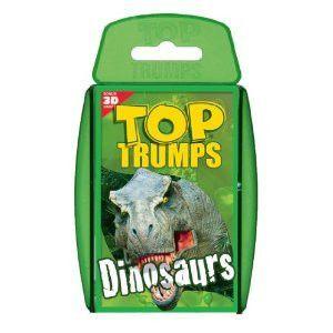Top Trumps Dinosaurs Card Game Top Trumps Dinosaur Cards Card Games