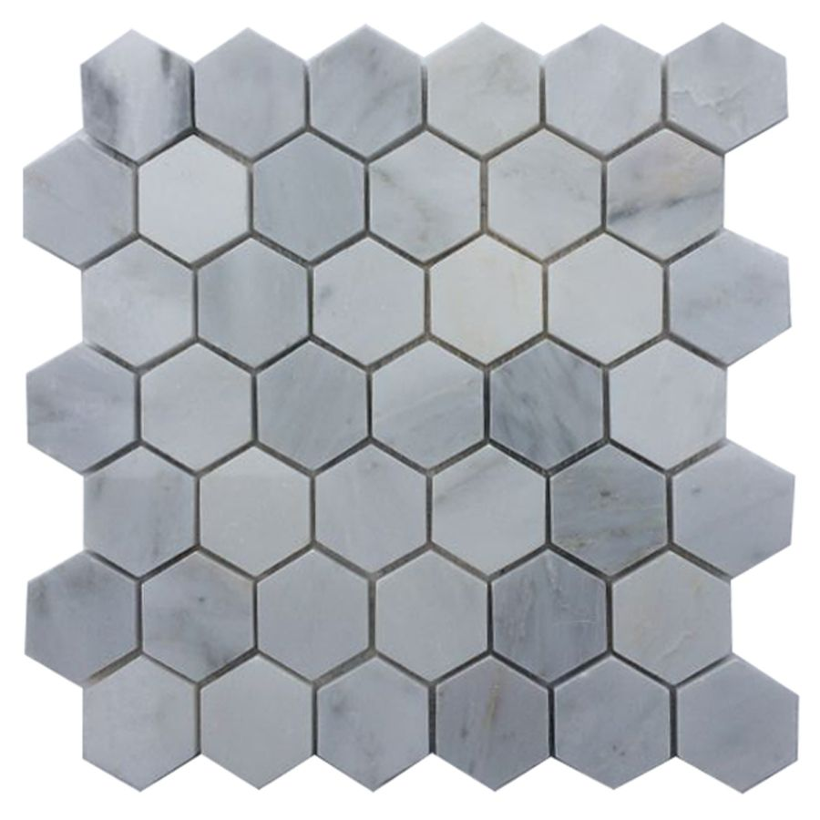Shop cci white mosaic floor tile common 12 in x 12 in actual shop cci white mosaic floor tile common 12 in x 12 in dailygadgetfo Choice Image