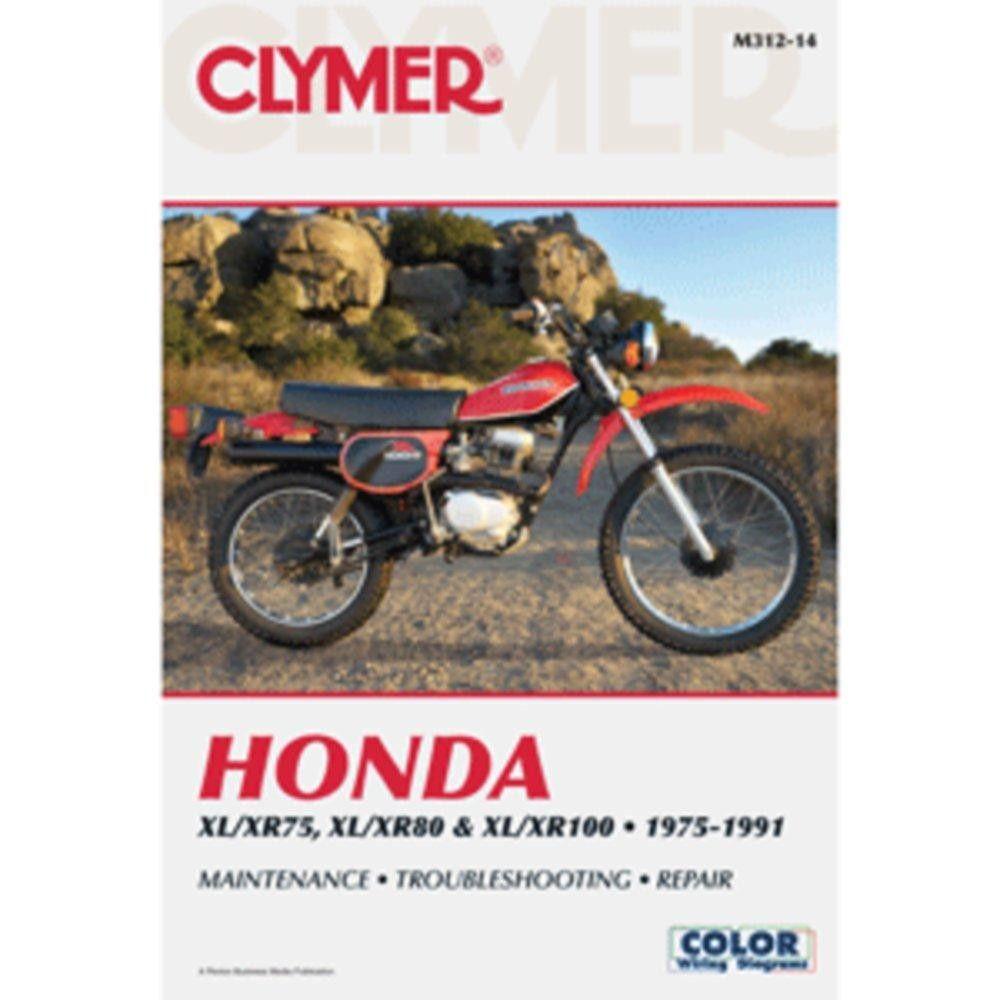 Clymer Honda XL-XR75, XL-XR100 (1975-1991)