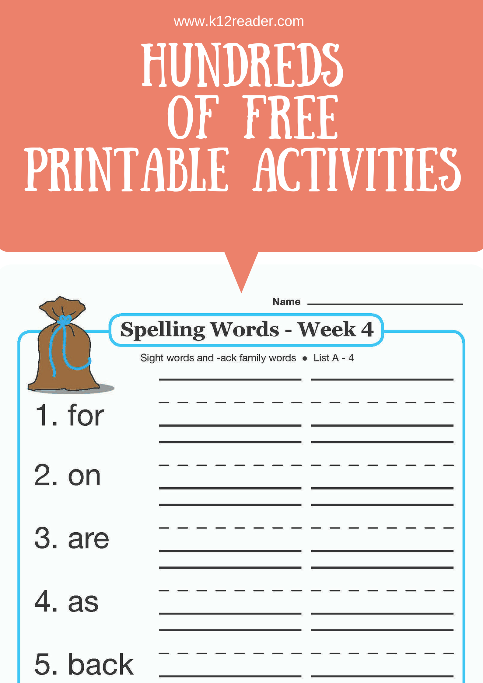 - Find HUNDREDS Of Free Printable Learning Materials On Www