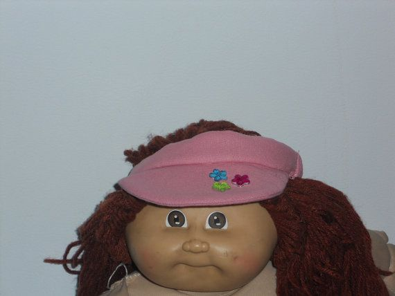 Cabbage Patch - Pink Cotton Visor