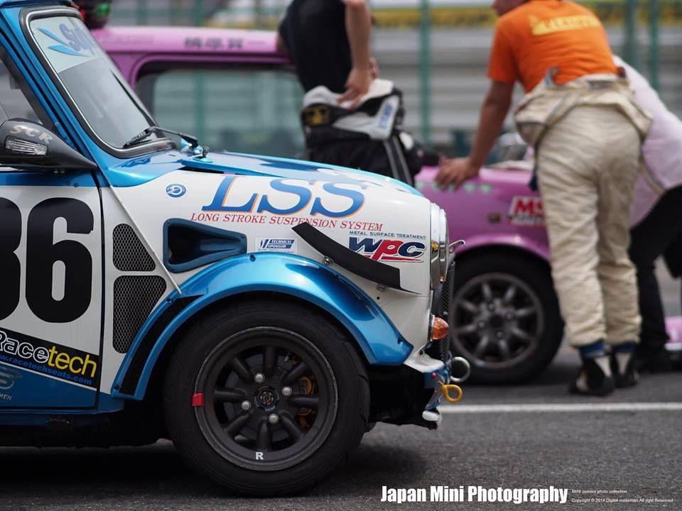 Classic Mini Race Car Vtec Mini Cooper Pinterest Classic