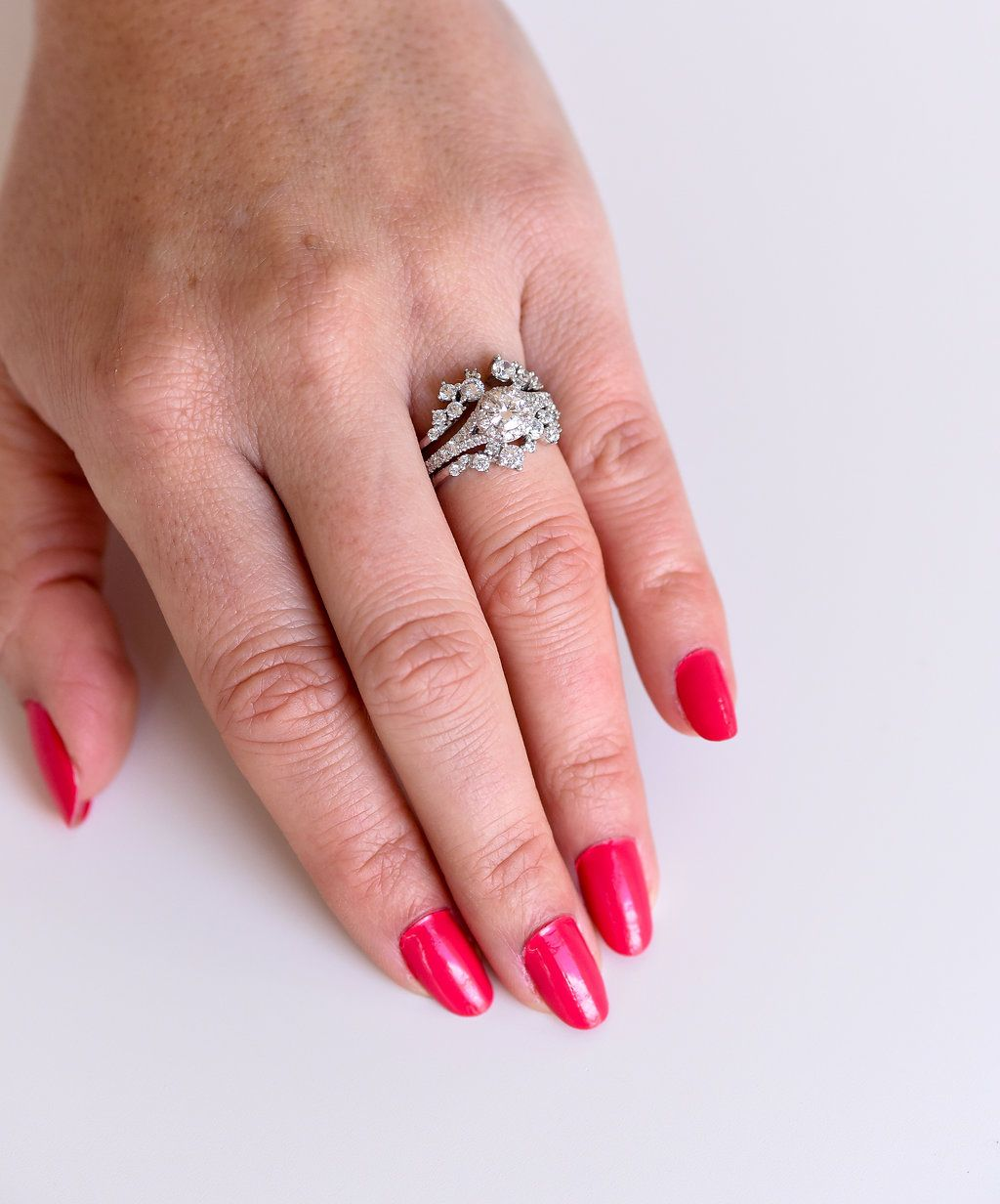 Dress your already beautiful diamond ring up a little bit, with a ...