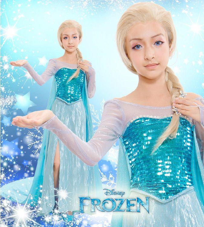 Frozen Elsa Deluxe Costume for Girls u0026 Kids #Frozen #Elsa #Costume  sc 1 st  Pinterest & Frozen Elsa Deluxe Costume for Girls u0026 Kids #Frozen #Elsa #Costume ...