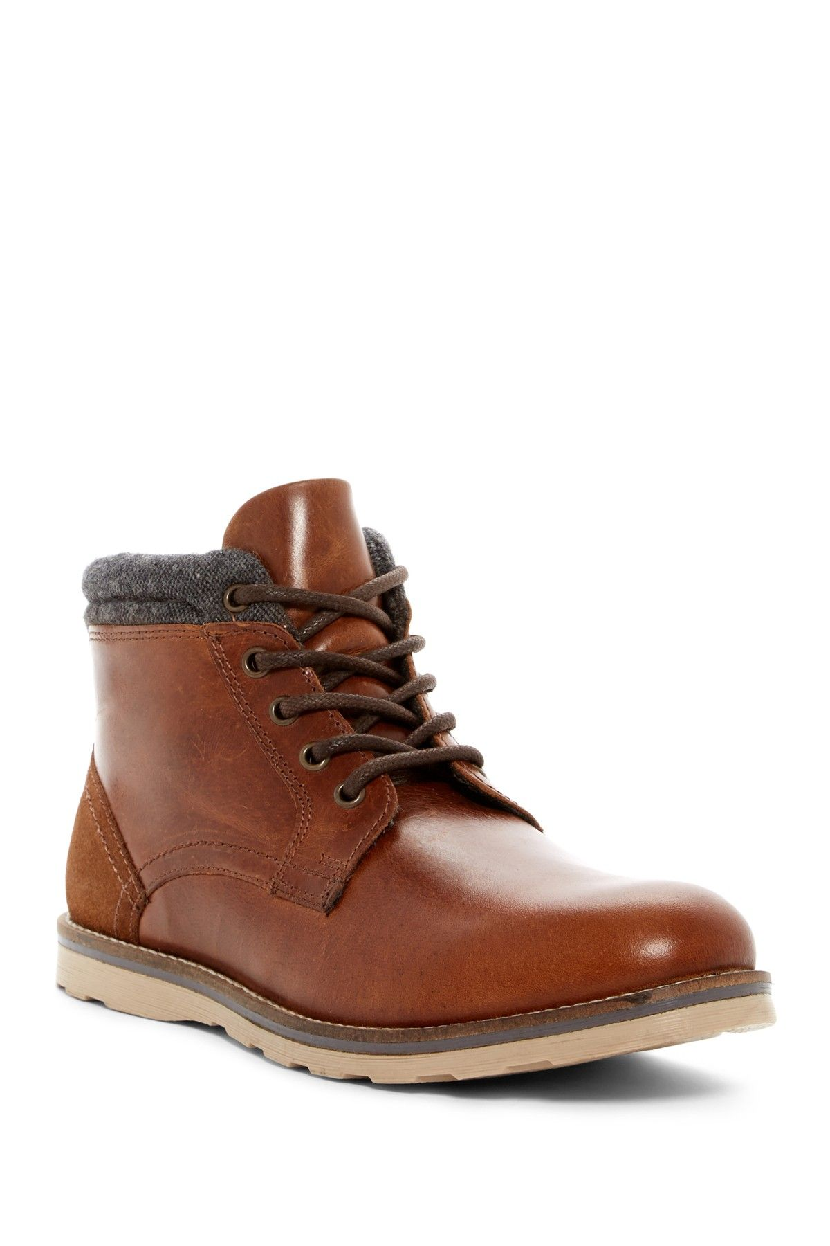 97880640f00 Geoff Leather   Wool Boot by Crevo on  nordstrom rack 60