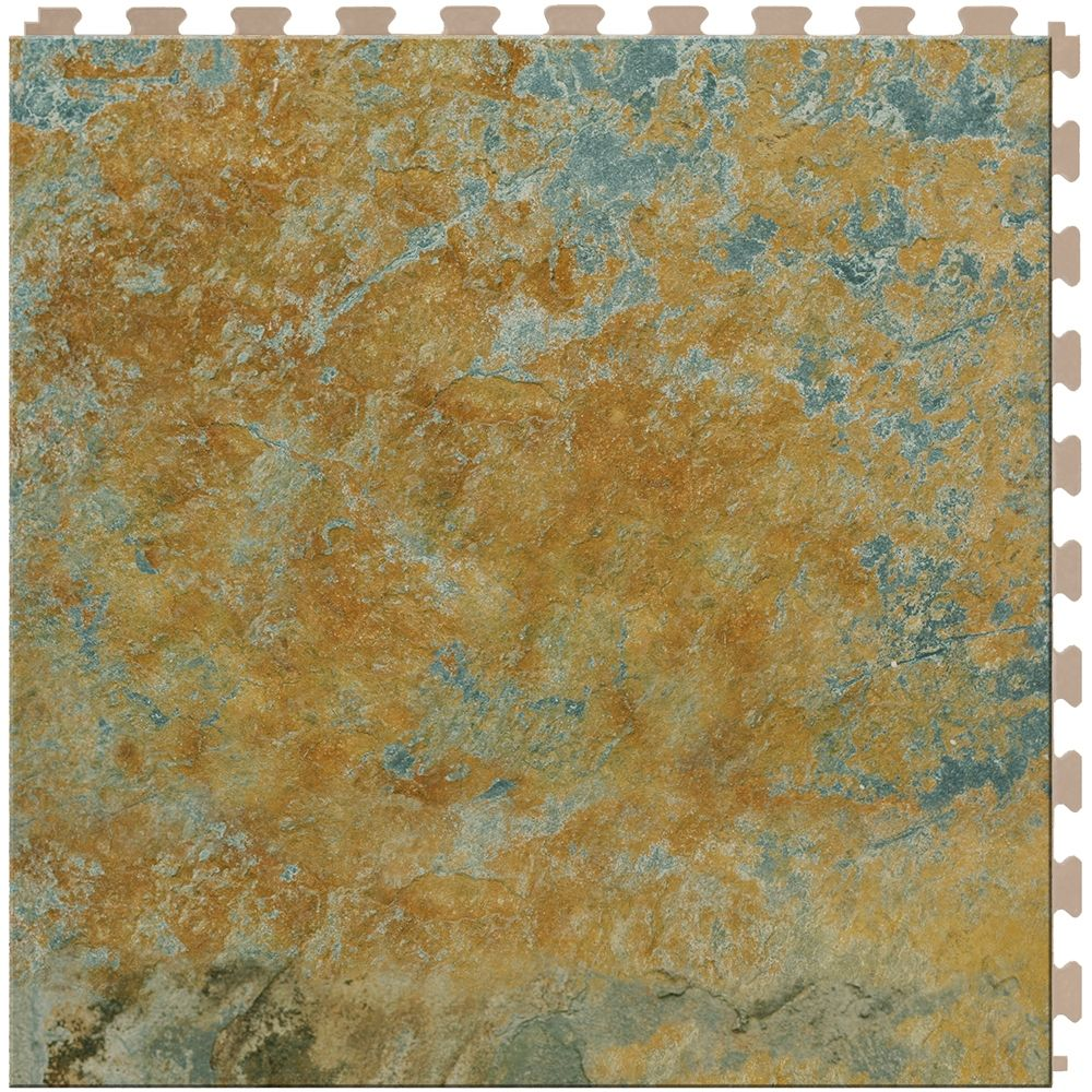 Perfection floor tile imperial gold slate httpnextsoft21 perfection floor tile natural stone imperial gold is a flexible interlocking tile with a stone look come in a x x made in usa free ground shipping dailygadgetfo Gallery