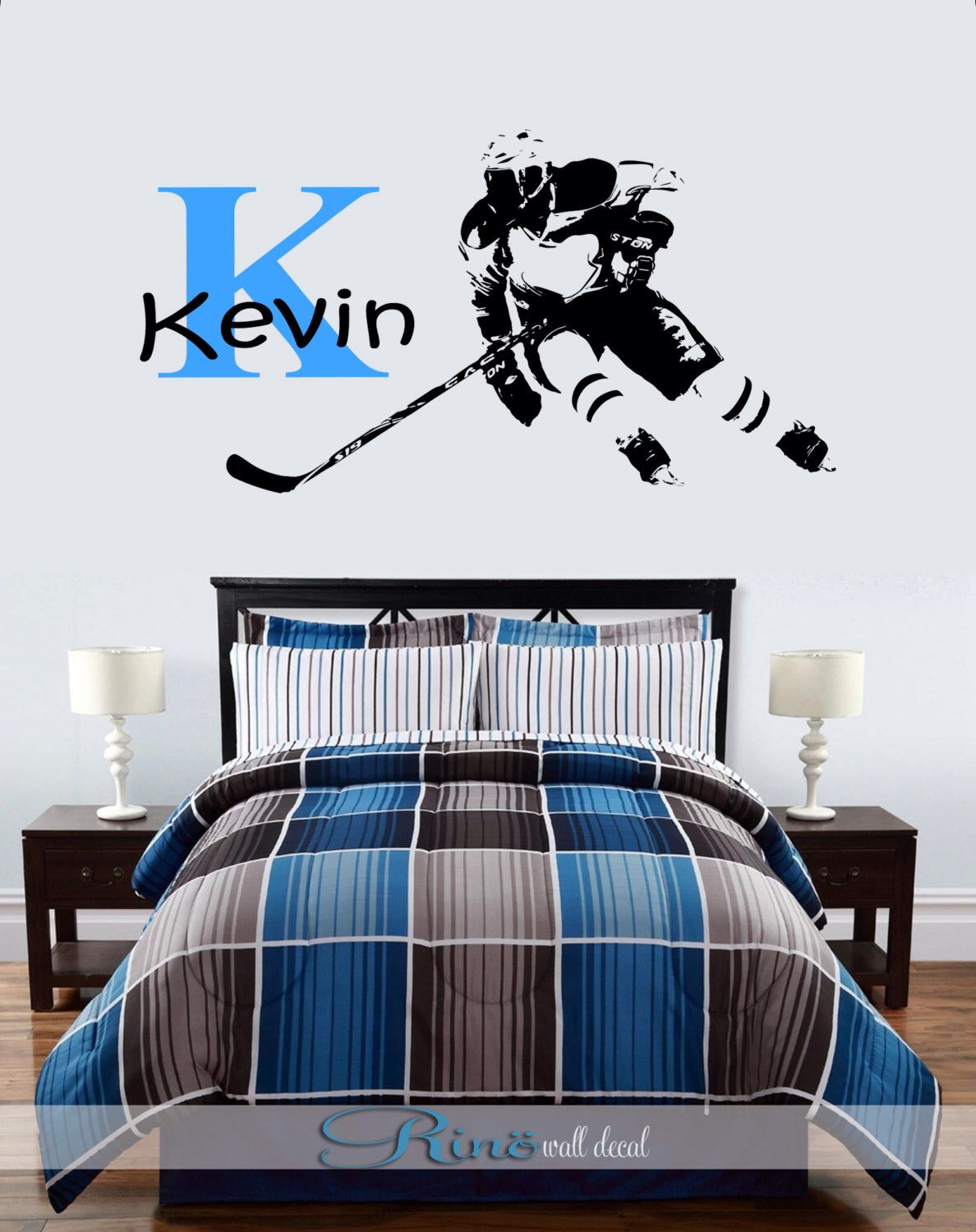 Kids Hockey Wall Art