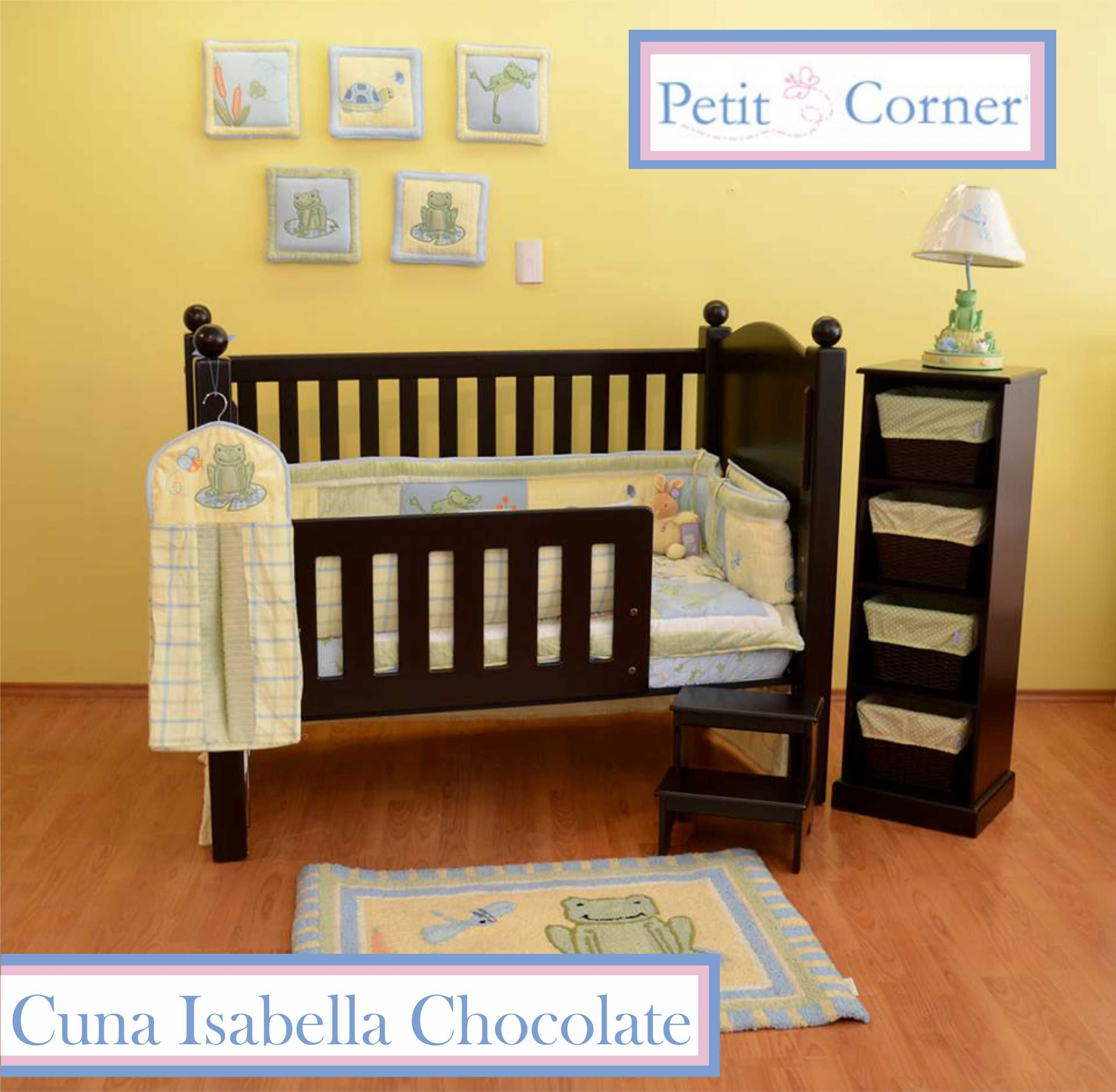 Cuna Isabella Chocolate Bebe Pinterest Chocolates Muebles  # Muebles Petit Corner