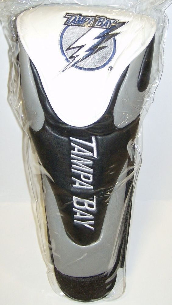 Tampa Bay Lightning Golf Club Head Cover  #TampaBayLightning Visit our website for more: www.thesportszoneri.com