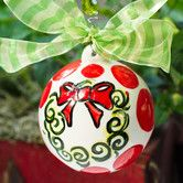 Found it at Wayfair - Glory Haus Deck the Halls Ball Ornament